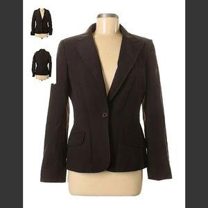 Womens 2piece brown pant suit Anne Klein size 8